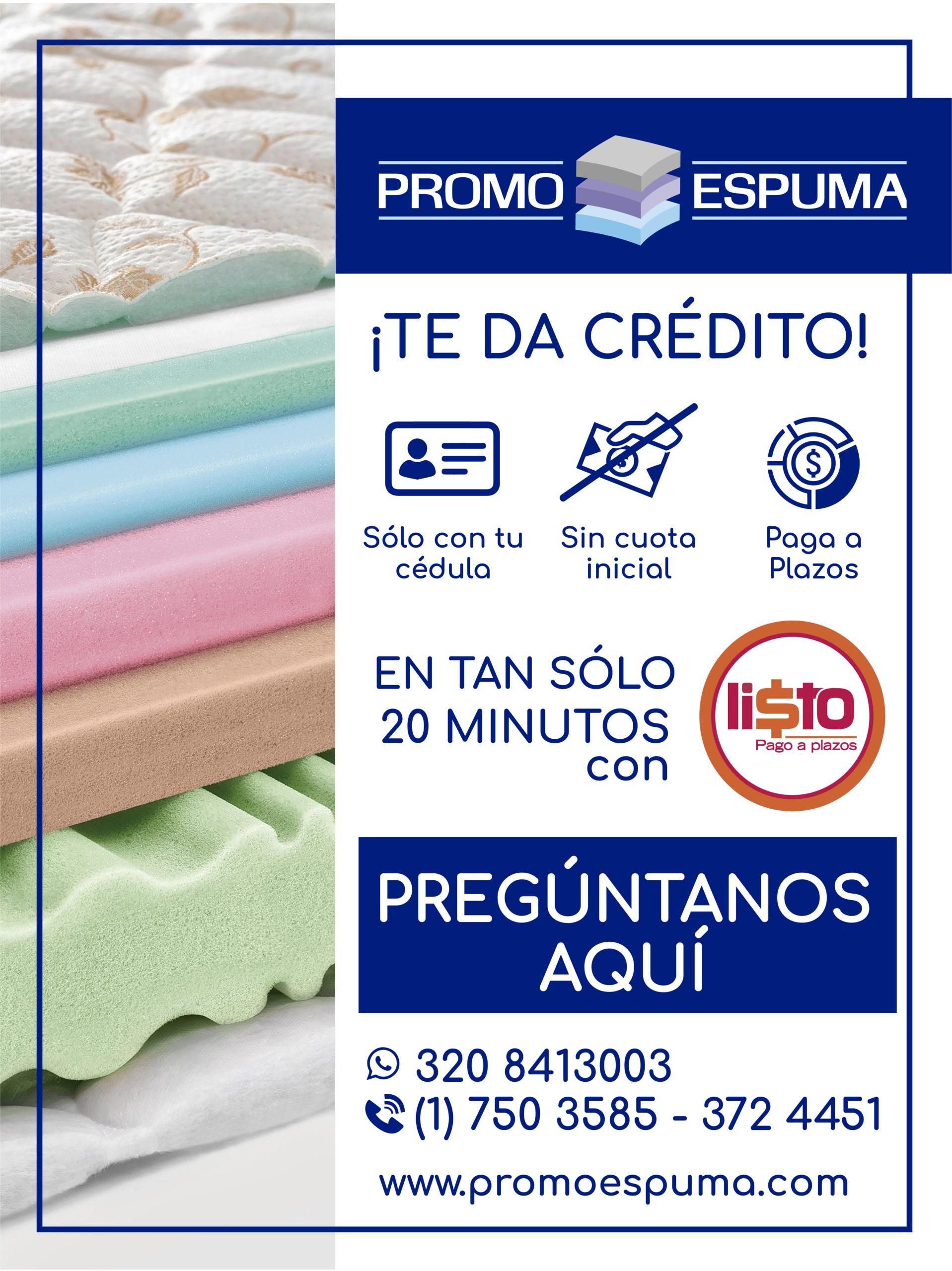 Accede a nuestra línea de crédito sin cuota inicial